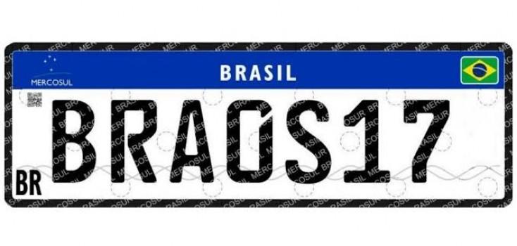 Detran da Paraíba anuncia implantação da Placa Mercosul