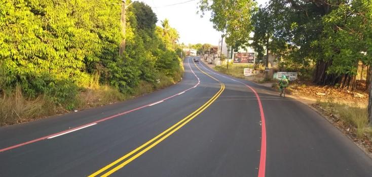 Semob-JP implanta faixa preferencial e amplia espaços para carros e bicicletas