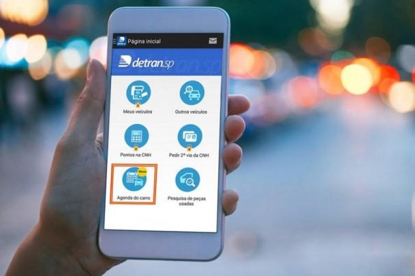 Uso do aplicativo do Detran aumenta 640%