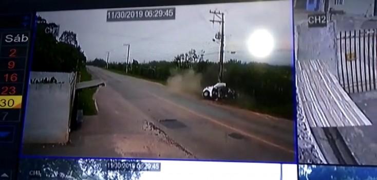 Tragédia! Colisão deixa uma moça Morta e dois feridos