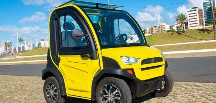 Carro 100% elétrico será lançado hoje sábado (23) em evento na Bahia