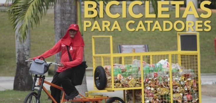 Catadores de Alagoas ganham bikes de cargas para evitar crueldade com cavalos