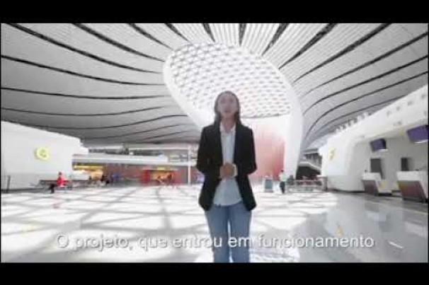 China inaugura maior aeroporto do mundo