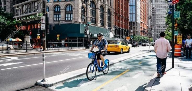 Nova York vai construir 250 vias para bicicletas