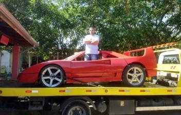 Homem que foi processado pela Ferrari por plágio, pede indenização por dano moral
