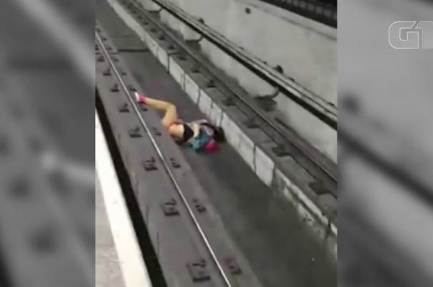Após evitar que homem fosse atropelado, maquinista do Metrô de SP passa por acompanhamento psicológico: 'superar abalo'