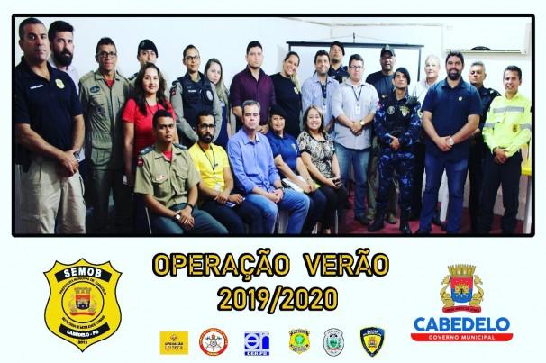 Semob Cabedelo planeja OPERAÇÃO VERÃO 2019/2020*