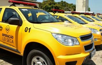 Lei Seca autua 110 condutores por embriaguez em fevereiro