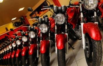 Produção de motocicletas ultrapassa 1 milhão de unidades