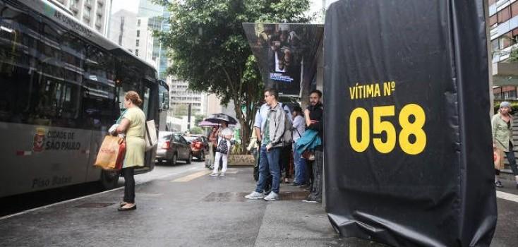 Prefeitura lança campanha para frear mortes no trânsito em São Paulo