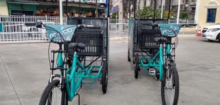 Catadores de material reciclável em Fortaleza receberão triciclos da Prefeitura