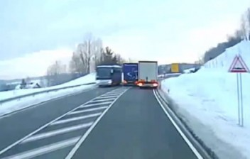 Caminhoneiro é condenado a mais de 2 anos de cadeia por ultrapassagem perigosa na Alemanha