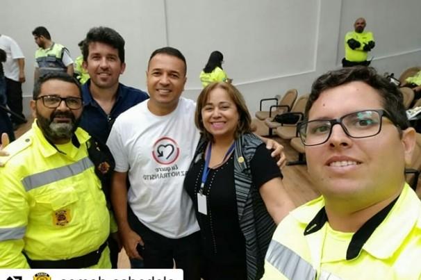 Semob Cabedelo participa de palestra com especialista Josimar Amaral