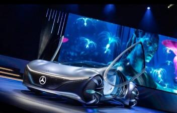 Mercedes-Benz cria carro inspirado no filme Avatar