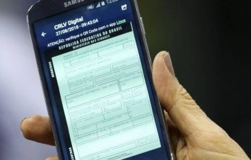 CRLV digital já está valendo em todo Brasil