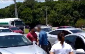Motorista que diz ter sido agredido em briga de trânsito pode perder a visão de um dos olhos