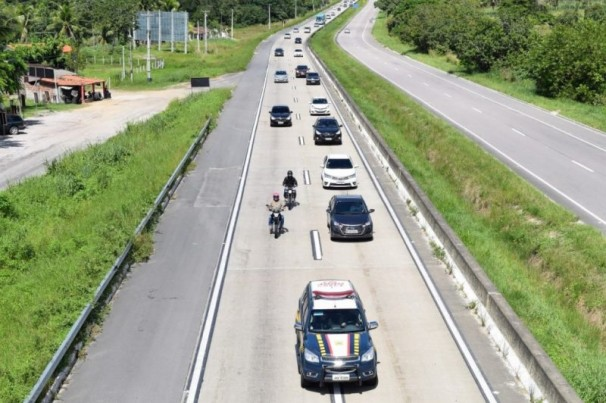 Operação Verão: PRF flagra 99 motoristas dirigindo sob efeito de álcool na Paraíba