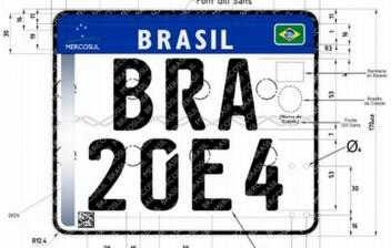 Veja qual será sua nova placa com o padrão Mercosul para motos
