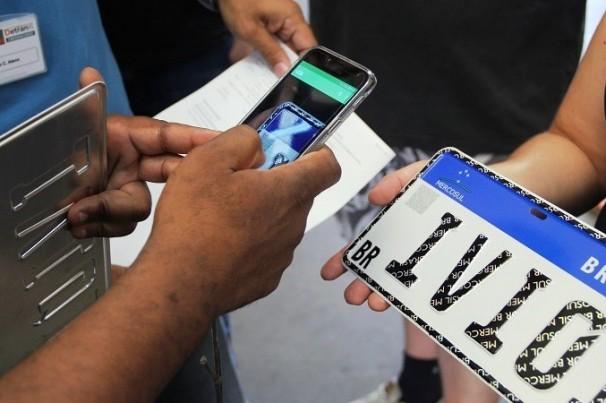 O que aparece no QR Code das placas do padrão Mercosul?