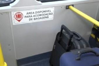 Linha que liga Metrô ao Aeroporto de Congonhas ganha ônibus com espaço para bagagens