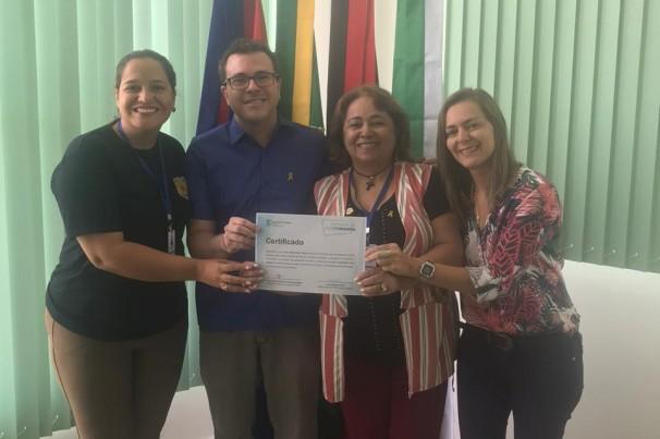 Semob Cabedelo recebe certificado do IFPB