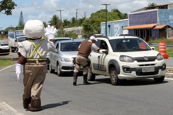 Operação Carnaval em Paz reforça fiscalização nas estradas baianas até quarta de Cinzas