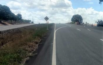 DNIT faz desvio de trânsito na BR 230 a partir desta quarta-feira no distrito de Cajá
