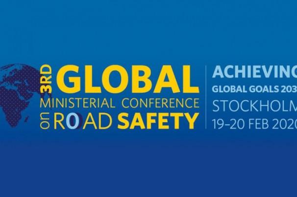 3ª Conferência Ministerial Global em Segurança Viária acontece este mês em Estocolmo