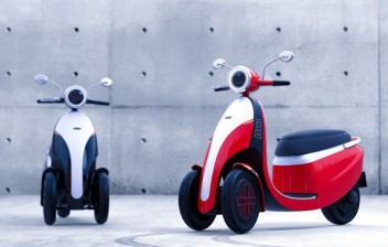 Romi-Isetta vira scooter elétrico de 3 rodas em versão moderna