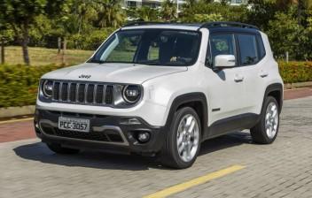Jeep Renegade tem recall para troca de pinça de freio traseira