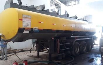 Central clandestina de distribuição de combustíveis roubados é descoberta