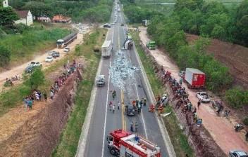 Vereador e família morrem em acidente na BR 101