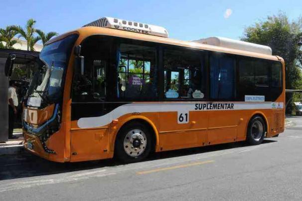 Prefeitura fará novos testes com ônibus elétrico