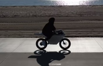 Já pensou uma bicicleta elétrica inspirada na Cybertruck?