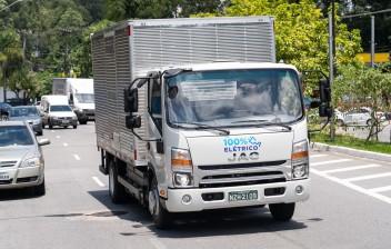 Jac iEV 1200T: Primeiro caminhão elétrico à venda no Brasil