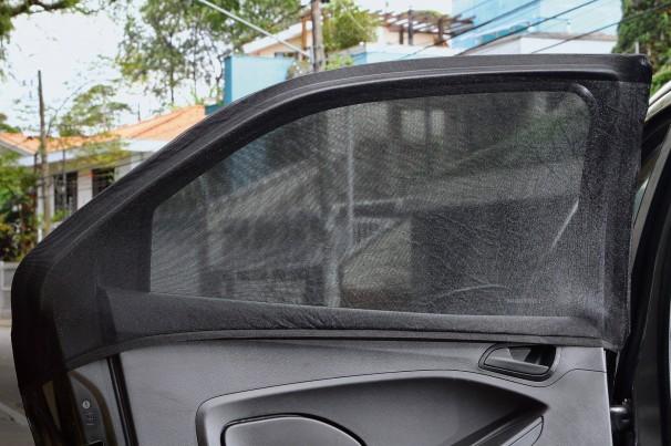 Cortina promete deixar cabine do carro livre do sol