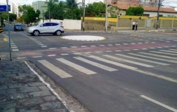 CG sinalizada: implantação de sinalização de vias