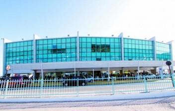 Barreira sanitária no Aeroporto de João Pessoa