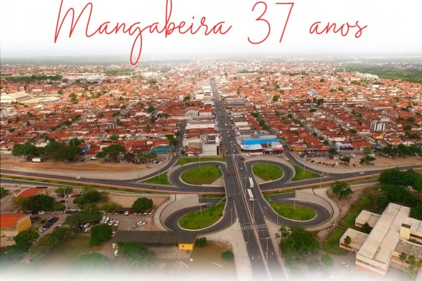 Parabéns Mangabeira 37 anos