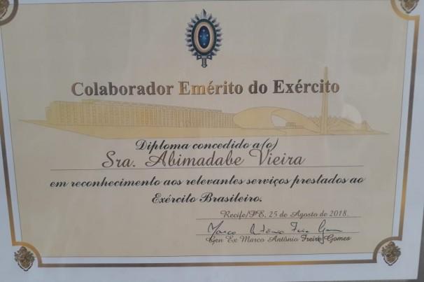 Parabéns ao Exército Brasíleiro