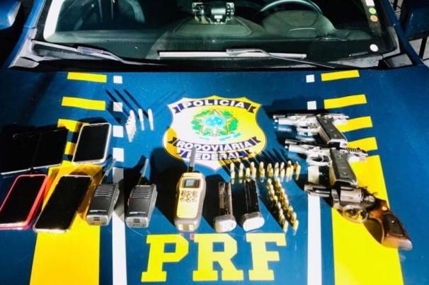 PRF desarticula quadrilha de assalto a cargas