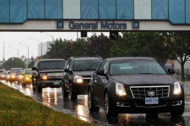 GM Motors anuncia redução salarial