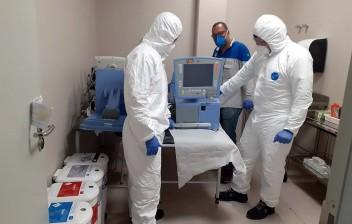 Fabricantes consertam respiradores para hospitais