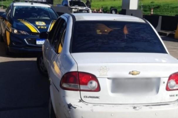 Motorista é flagrado por passar em pedágio sem pagar