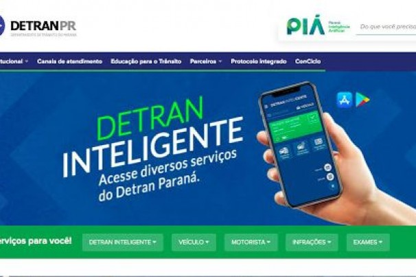 Portal do Detran-PR é avaliado como melhor do País