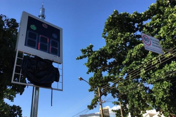 Operação de radares de trânsito em Presidente Prudente