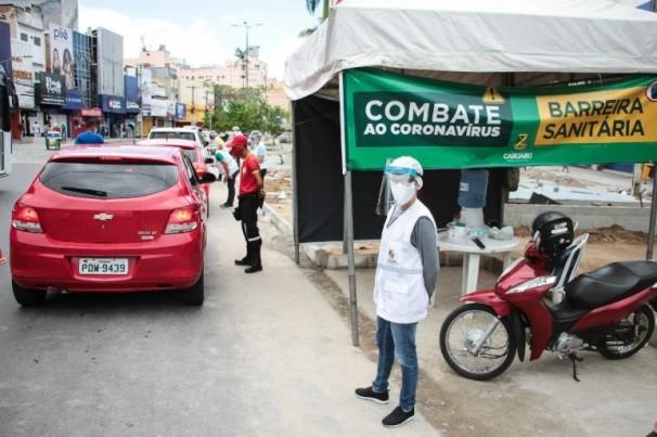 Furar barreira sanitária é infração de trânsito?