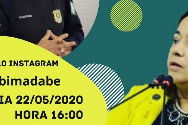 """Live: """"Maio Amarelo digital em tempos de pandemia"""""""