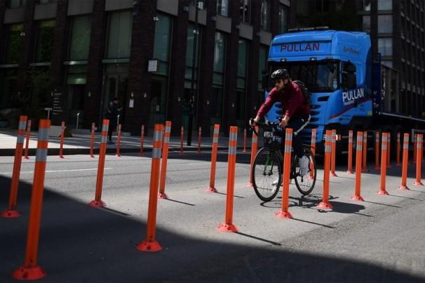Ciclistas querem ciclovias temporárias em SP