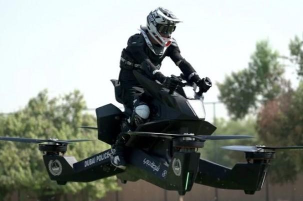 Conheça: Moto voadora ou drone gigante?